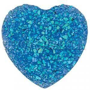 scotton spa scotton spa punto luce 18x18 mm a forma di cuore effetto cristallo - blu