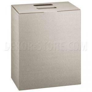 scotton spa scotton spa scatola 6 bottiglie a cubo con maniglia - linea tortora