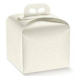scotton spa scotton spa portapanettone 200x200x180 mm - sfere bianco