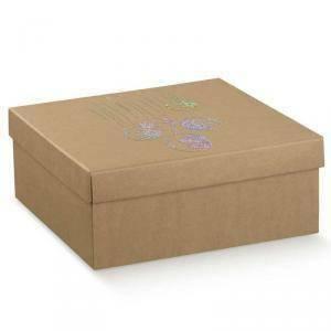 scotton spa scotton spa scatola 300x300x120mm sfere avana - fondo e coperchio