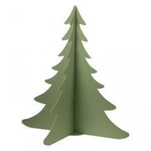 scotton spa scotton spa albero natale stilizzato h. 930 mm - cartone verde