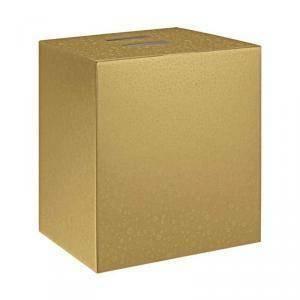 scotton spa scotton spa pacco dono cubo 330x250x350 mm - sfere oro