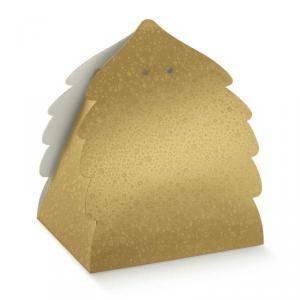 scotton spa scotton spa portapanettone albero 345x300x330 mm - sfere oro