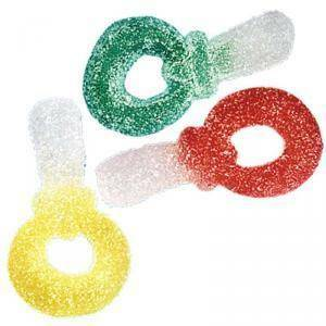 fini ciucci colorati 1 kg - gommosi fini zuccherati