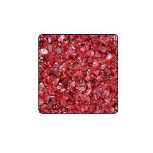 eurosand vetro specchiato 1-4 mm rosso (1 kg)