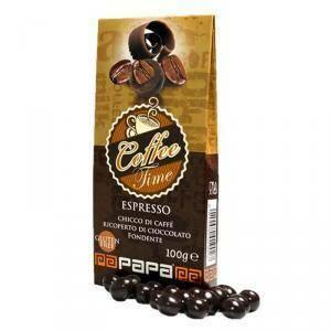 papa chicco di caffe' con cioccolato fondente - 100 gr
