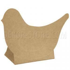 scotton spa scotton spa scatola 60x35xh90 mm in cartoncino a forma di uccellino avana