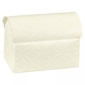 scotton spa scotton spa cofanetto 70x45x52mm matelasse bianco