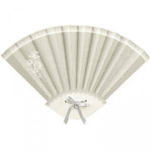 scotton spa scotton spa ventaglio pieghevole in cartoncino rose - 330x210 mm