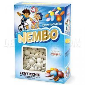 crispo lenticchie nembo  - bianco - cioccolato al latte 1kg