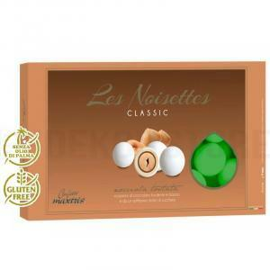 maxtris praline delizie tonde colore verde- les noisettes (1kg)