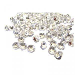 diamanti trasparente 6 mm ( acrilico 20 gr - 300 pz ca.)