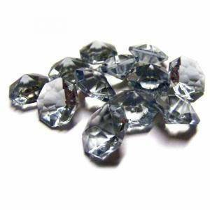 diamanti cenere 12 mm ( acrilico - 60 pz ca.)