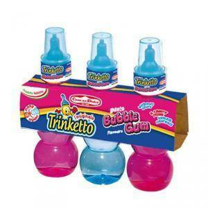 trinketto bubble gum 3 pezzi x 70 ml (210 ml)
