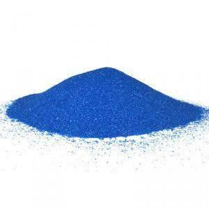 sabbia 0,1-0,5 mm - blu 1 kg