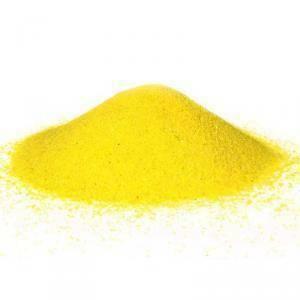 sabbia 0,1-0,5 mm - giallo 1 kg