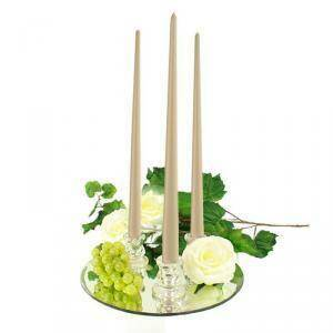 wenzel candela conica diam. 25xh400 mm - crema