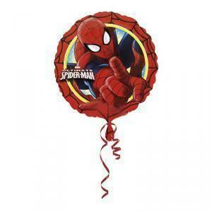 anagram pallone in foil 18'/ 45 cm - ultimate spiderman