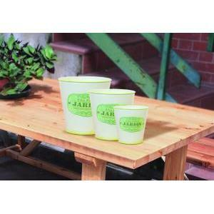 caspo' latta jardin set 3pz h.16 d.16 green