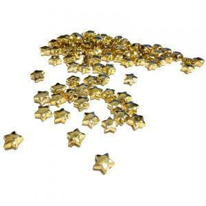 stelline pvc 12 mm 100 ml - oro giallo