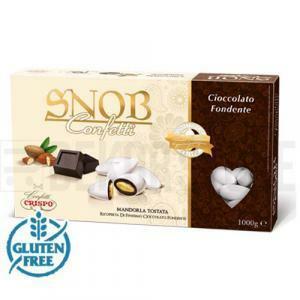 crispo cioccolato fondente - confetti  snob 1 kg
