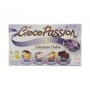 crispo selection color lilla - ciocopassion confetti  1 kg