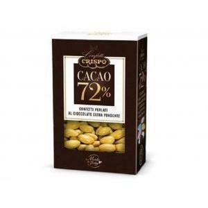 crispo oro - confetti al cioccolato extra fondente 500 gr