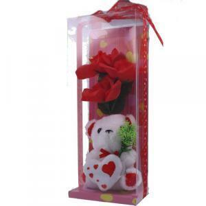 orsetto peluche in box