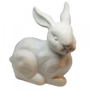 rgb coniglio in ceramica - bianco