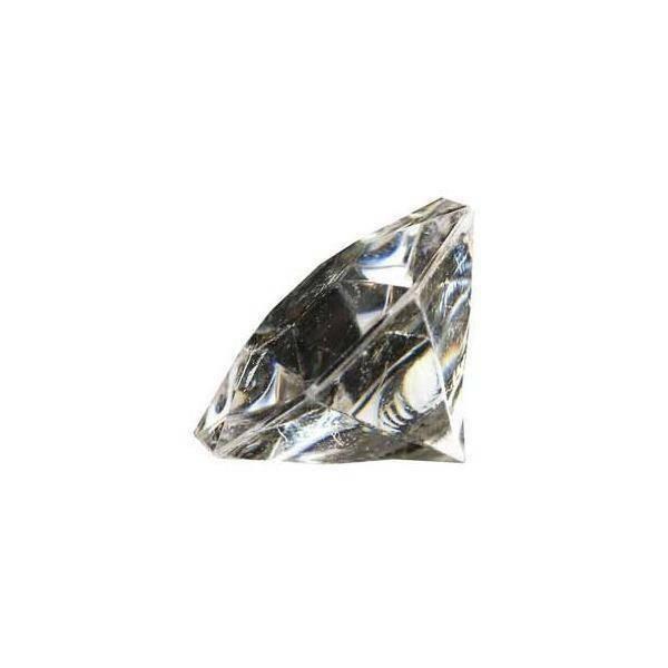 eurosand diamanti in pvc trasparente 32 mm (box 22 pz)