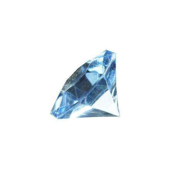 eurosand diamanti in pvc  celeste 32 mm (box 22 pz)