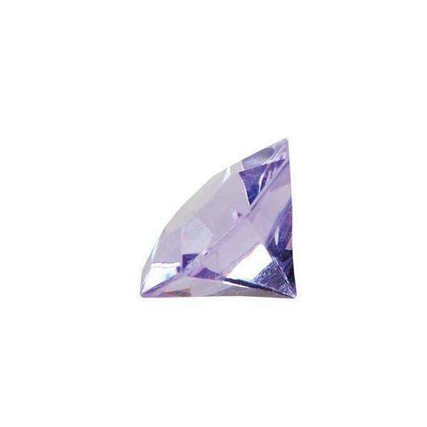 eurosand diamanti in pvc lilla 32 mm (box 22 pz)
