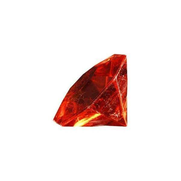 eurosand diamanti in pvc rosso 32 mm (box 22 pz)