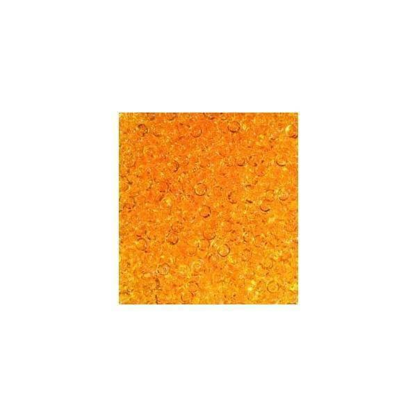 eurosand gocce di pioggia 2-4 mm in pvc arancio - 333 ml
