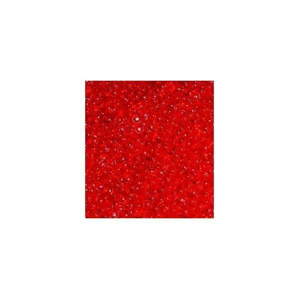 eurosand gocce di pioggia 2-4 mm in pvc rosso - 333 ml