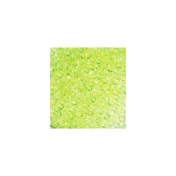 eurosand gocce di pioggia 2-4 mm in pvc verde mela - 333 ml