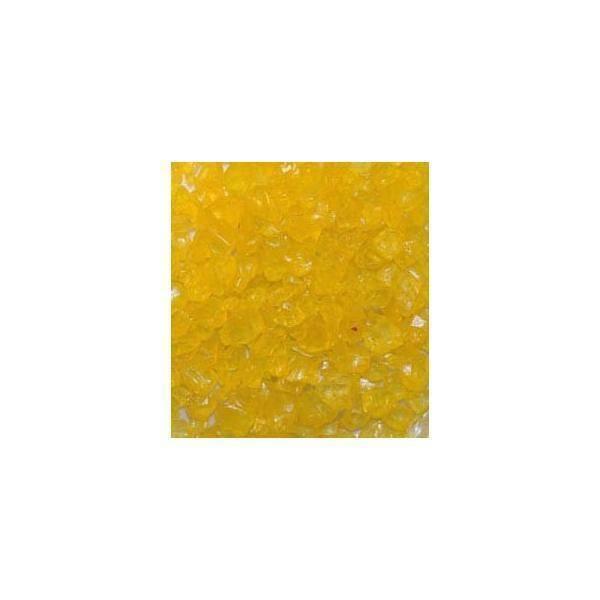 eurosand eurosand sassi di vetro giallo 4-10 mm (1kg)