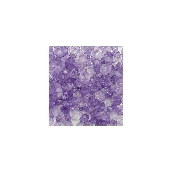 eurosand eurosand sassi di vetro lilla 4-10 mm (1kg)