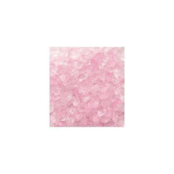 eurosand eurosand sassi di vetro rosa 4-10 mm (1kg)