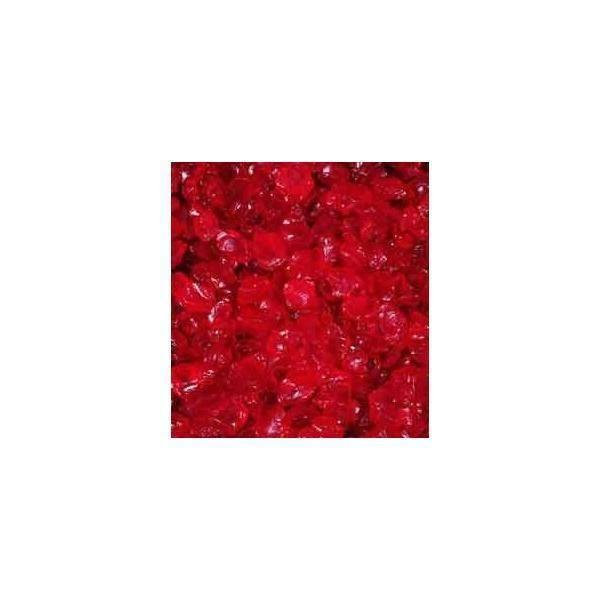 eurosand eurosand sassi di vetro rosso carminio  4-10 mm (1kg)