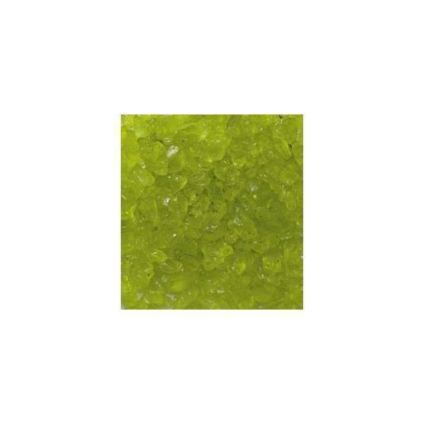 eurosand eurosand sassi di vetro verde mela 4-10 mm (1kg)