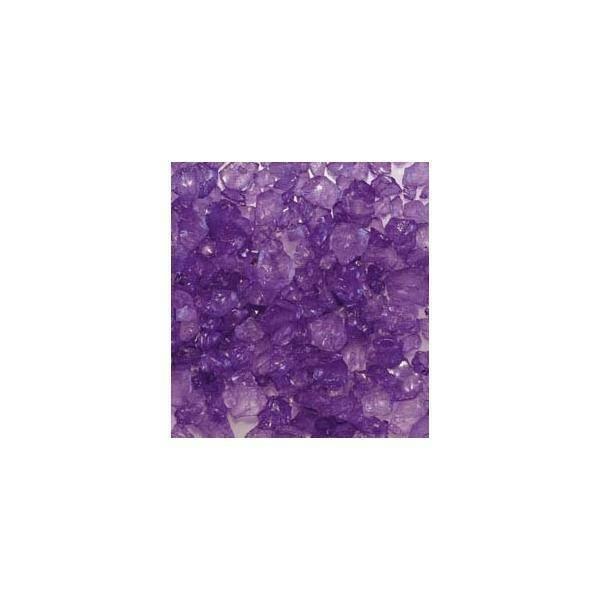 eurosand eurosand sassi di vetro  viola 4-10 mm (1kg)