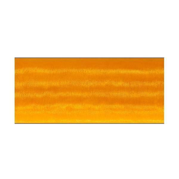 organza arancio - 70 cm x 10 yd