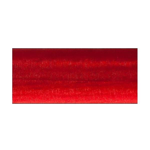 organza rosso - 70 cm x 10 yd