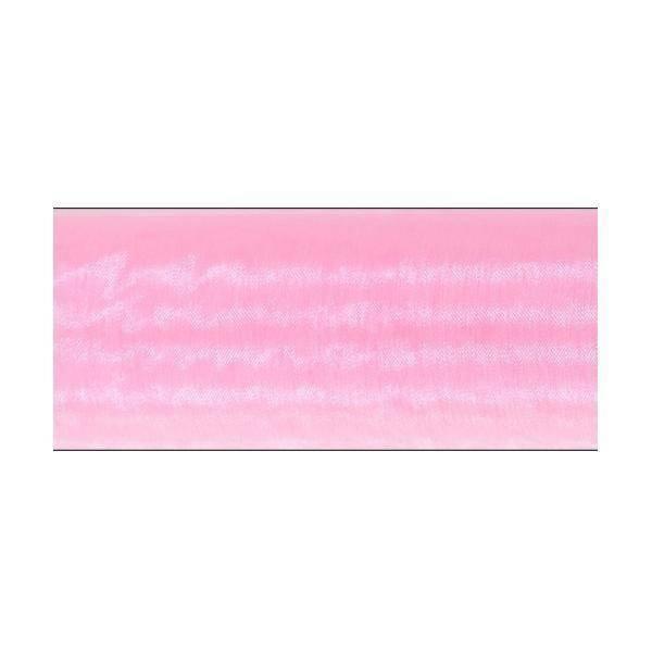 organza rosa - 70 cm x 10 yd