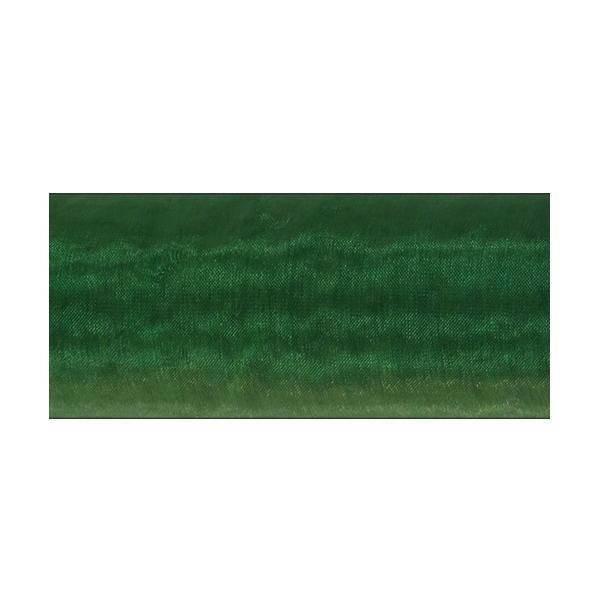 organza verde scuro -  70 cm x 10 yd