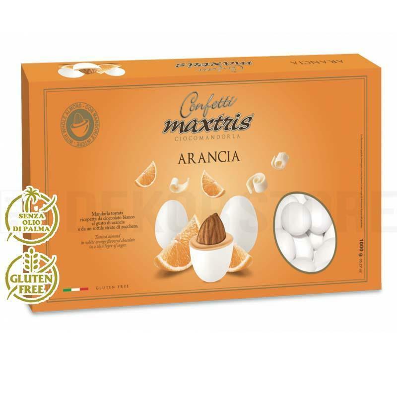 maxtris confetti maxtris arancia - 1 kg