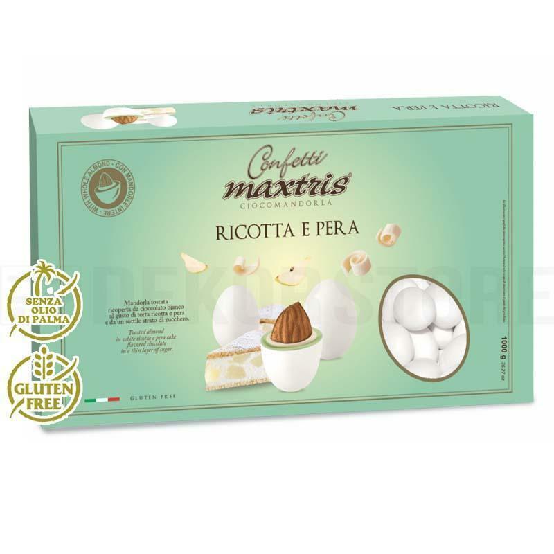 maxtris confetti maxtris ricotta e pera - 1 kg