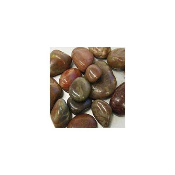 eurosand pietre di fiume 20-40 mm rosso scuro - 500 gr