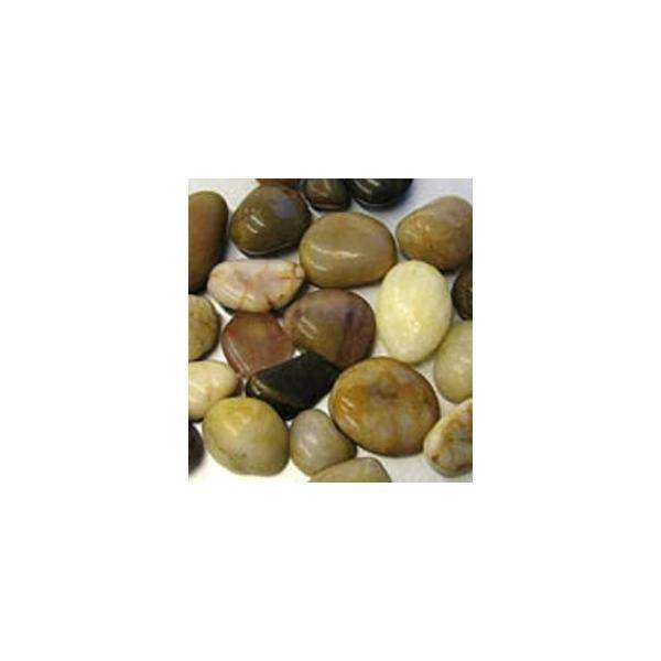 eurosand pietre di fiume 20-40 mm colorate - 500 gr